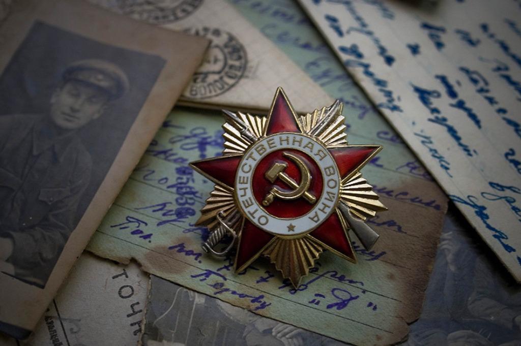 Орден победы на открытках, открытки надписями
